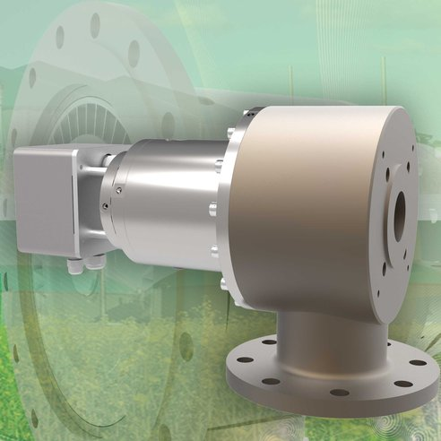 Turbine in an energy recovery application